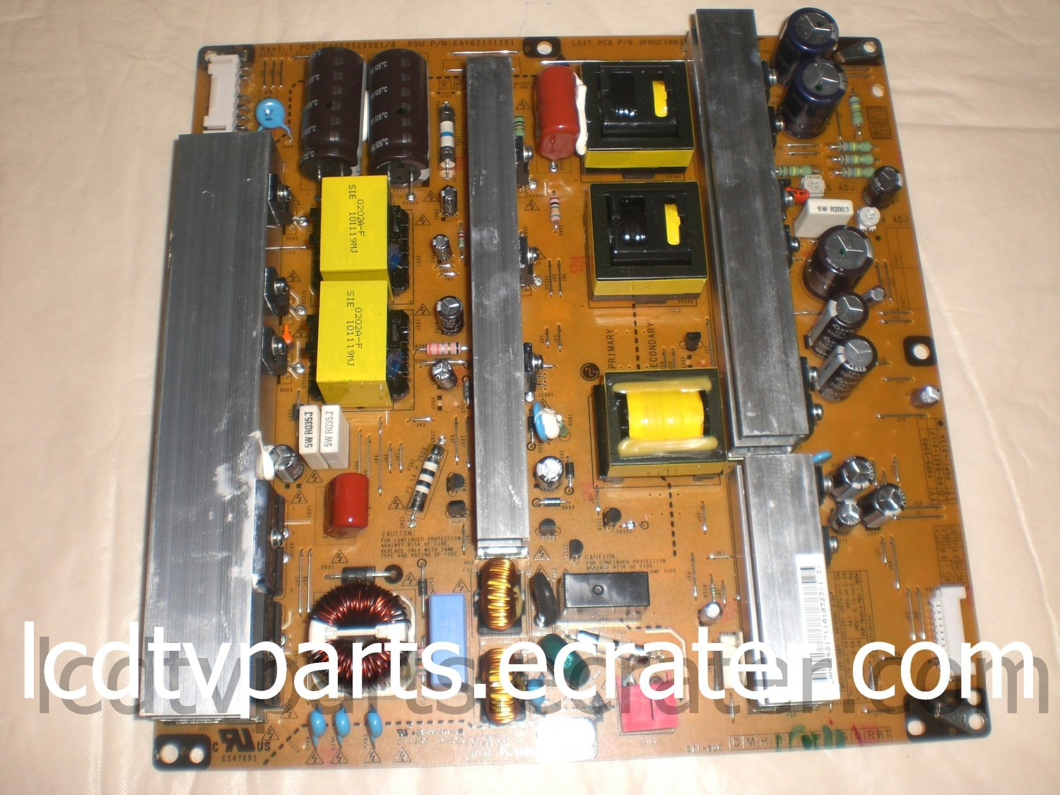 CRB31007101, PSPI-L013A, EAX63329901/8, EAY62171101, 3PAGC10037A-R, Power Supply for LG 50PZ550