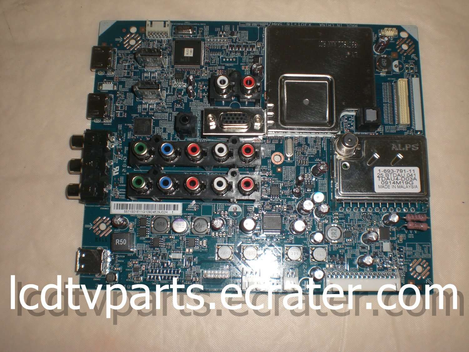 1-857-593-31, S9102-2, 1-881-683-12, 1-693-791-11, TDAU4-D03A, Main Board for SONY KDL-46EX500