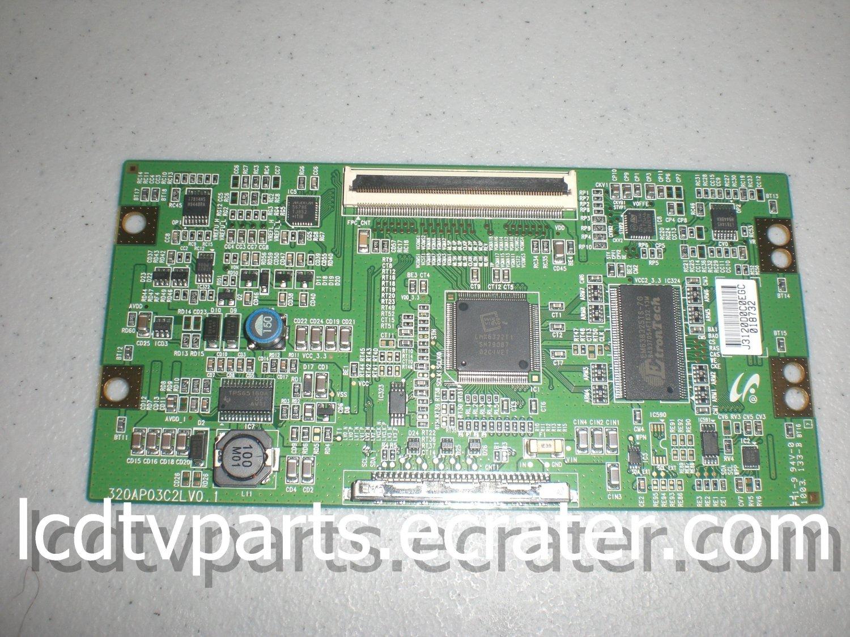 LJ94-03120D, 320AP03C2LV0.1, J03120D0J0L5K 027416, T-Con Board for TOSHIBA 32C100U1