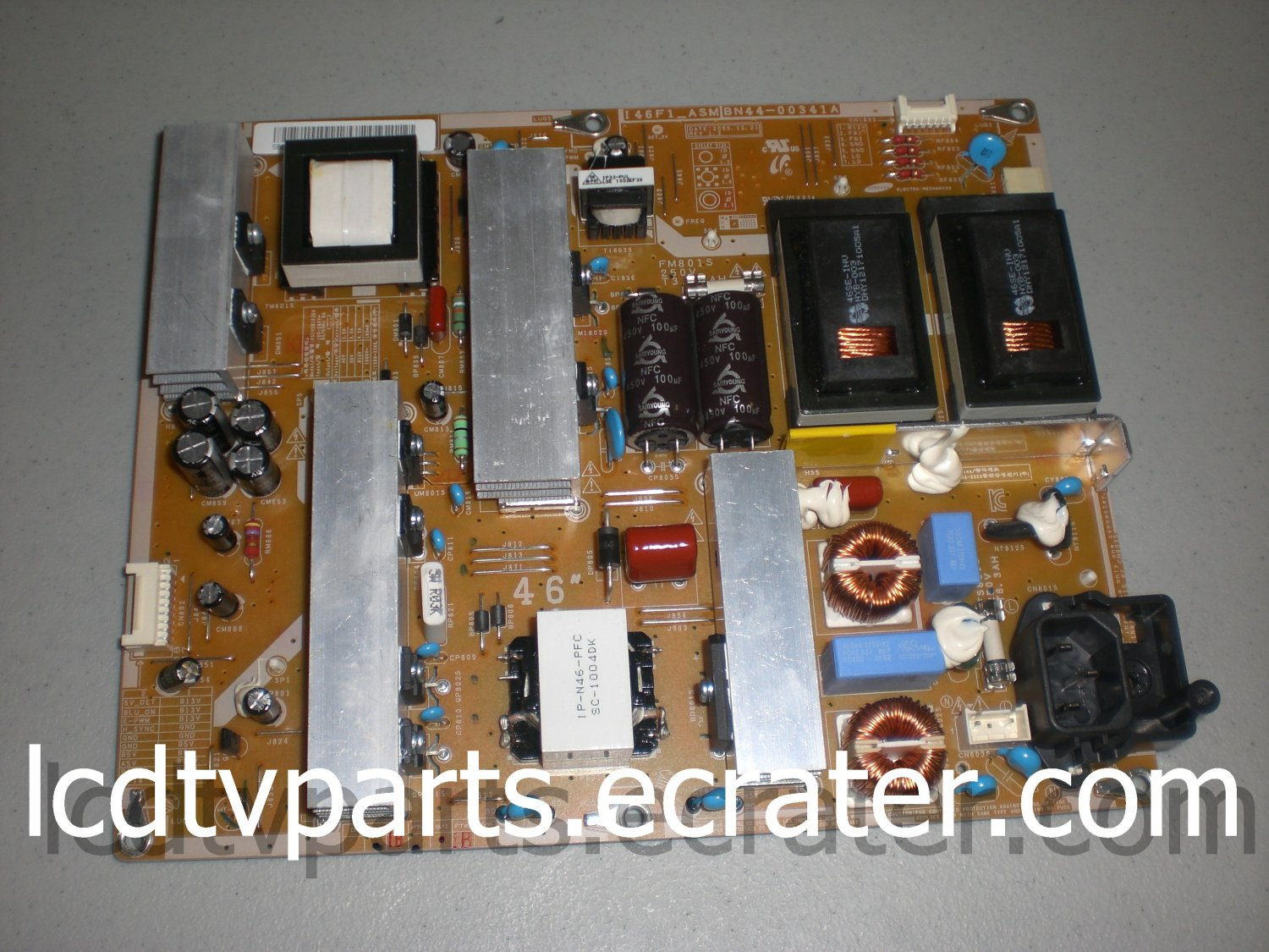 BN44-00341B,BN44-00341A, MA1B000098, PSIV281510A , Power Supply for SAMSUNG LN46C550J1FXZA