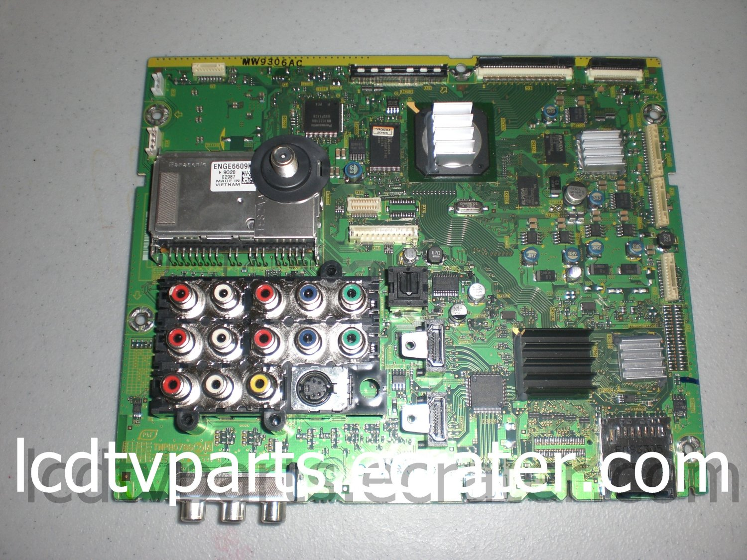 TXN/A1EDUUS, TNPH0786, MW9306AC, Main Board for PANASONIC TC-P50S1