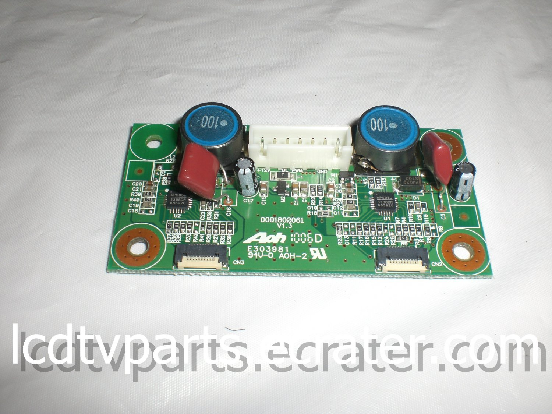 0091802061, 2687FDA3Q, AUDIO BOARD for HAIER HL22XSLW2