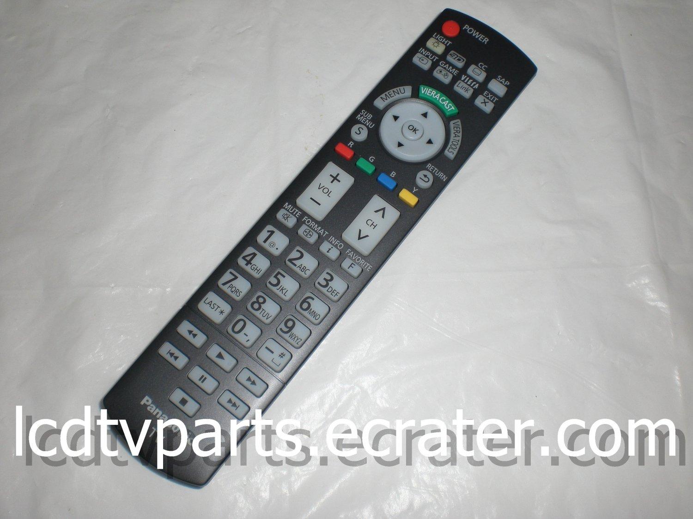 panasonic tv remote control n2qayb manual
