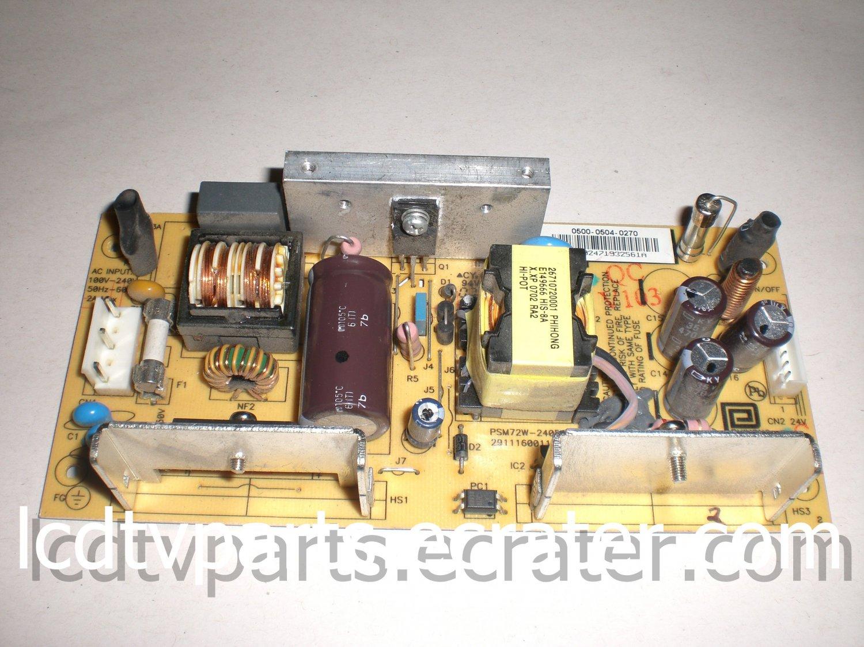 0500-0504-0270, PSM72W-240F-R, 29111600110-RA1, Power Supply for VIZIO VM60PHDTV10A