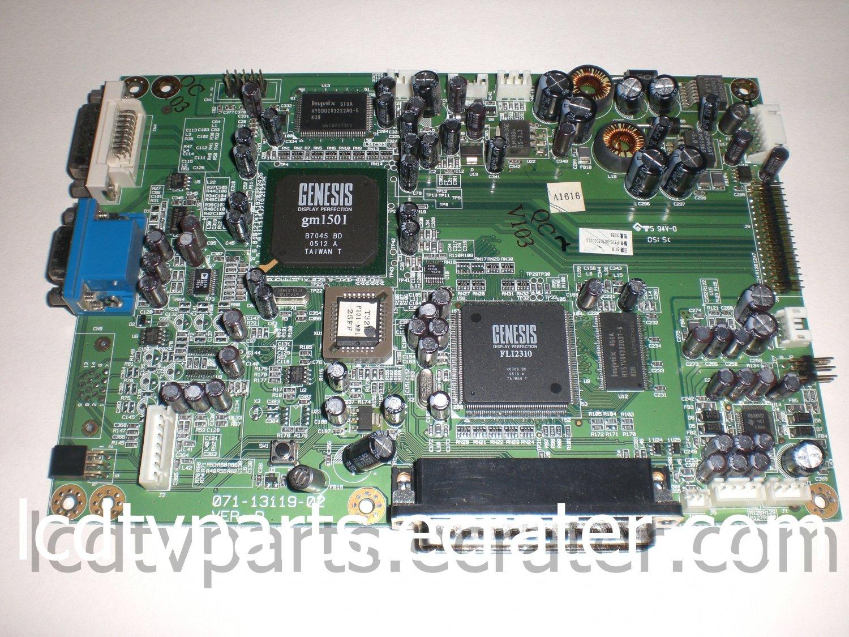 971-1069A-00, 071-13119-02, F510-0508026, Main Board for Protron PLTV-26