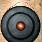 "Gong Metal 12"" d w/ Teak Wood Striker Music Percussion"