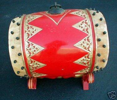 Gamelan Drum XL Bedhug Java Superb Quality Indonesia RARE and UNIQUE FOLK