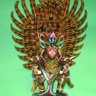 "Garuda handmade wood carving from Bali Indonesia 24"" size Red or Black UNIQUE"