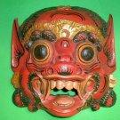 Bali Hindu Raksasa Mask  Gargoyle Demon Hand carved Extra LARGE 20 x 15 inch
