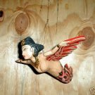 Dewi Rice Goddess Flying Hanging Mermaid Lady Sm 8""
