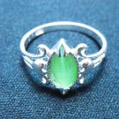 Cat's Eye Ring - Green