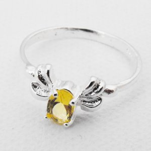Sterling Silver Citrine Ring (SSCR-2)