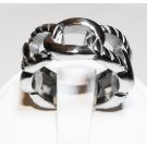 Links Steel Ring (sz.8)