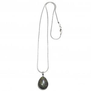 Serpentine Chain With Kite Stone
