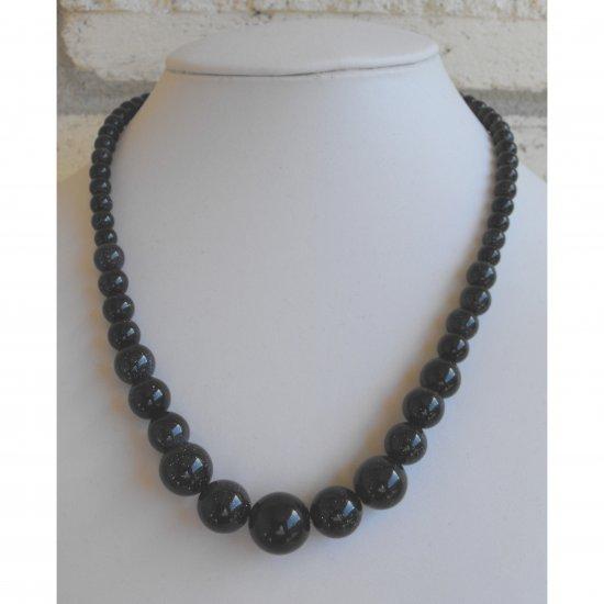 Blue Goldstone Necklace