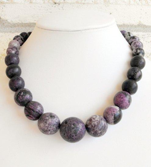 Purple Jasper Necklace