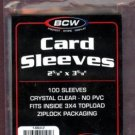 2500 NEW BCW BASEBALL / TRADING CARD SOFT SLEEVES