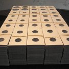2000 BCW Asst 2x2 cardboard coin holders flips mylars