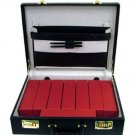 Coin Brief Case - Large For 2x2 Flips+8 Red 2x2x9 Boxes
