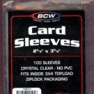 2500 NEW BCW BASEBALL / TRANDING CARD SOFT SLEEVES