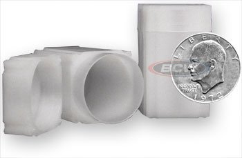 10 NEW SQUARE COIN TUBES SILVER DOLLAR MADE IN USA