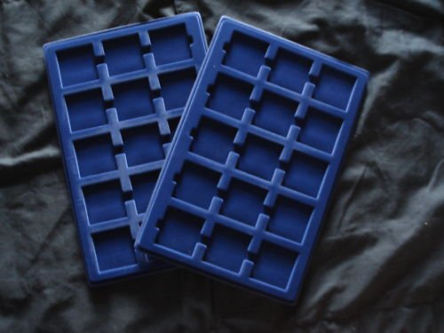 1 Lighthouse Large Aluminum Coin Case & 2 Trays For 2x2