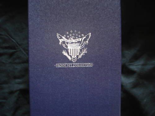 Whitman Storage Box 4 United States Proof Sets /Coins