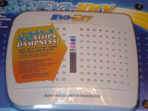 Eva-Dry mini Renewable Silica Gel Dehumidfier For Coins