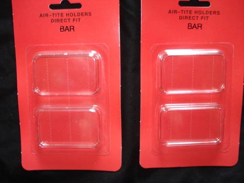 Airtite Capsules Holders For 1 Troy oz Silver Bars