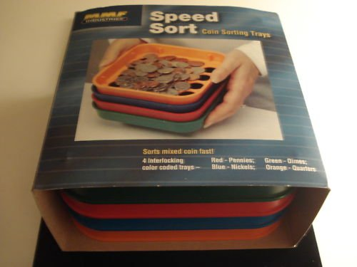 Speed Sort - Coin Sorting Trays For - 1c-5c-10c 25c New