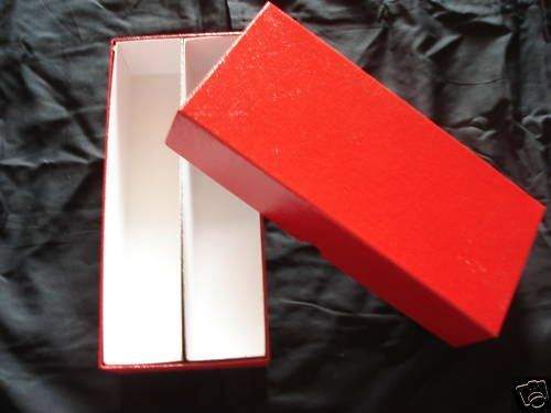1 DOUBLE ROW COIN BOX 10x4x2 FOR 2X2 COIN HOLDERS FLIPS