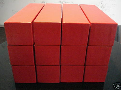 12 STORAGE BOXES (2X2X9) FOR 2X2 COIN HOLDERS FLIPS NEW