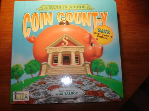 Just for Kids Coin Count-y Book Ages 5-9 how to save $$