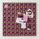 PB Teen Style Tile Tackboard / Framed Art NEW