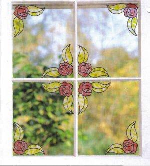 8 rose corner set