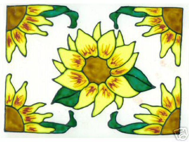 5 piece sunflower set