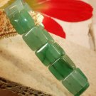 jade gemstone stretch bracelet