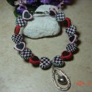 hearts pet necklace size 9