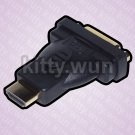 DVI -D Female to HDMI Male Adapter Converter Gold for HDTV Full HD