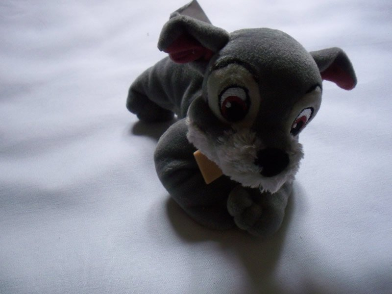 Disney's Lady & the Tramp 2 Scamp Promo Plushie -NEW-