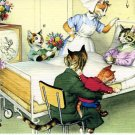 Mainzer - Visiting Mom At The Hospital - Mice Postcard