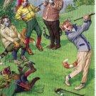 Mainzer - Golf, Golf, Golf - At The Links Postcard