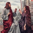 Christ And The Magdalene - (A93)