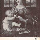 La Vierge et L'Enfant Jesus - Leonard De Vinci - (A77)