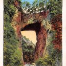 Natural Bridge, Virginia Linen Postcard 1939 (A4)