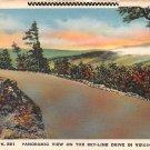 Sky-Line Drive, Virginia - Panoramic View (A50)