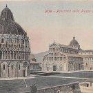 Pisa - Panorama della Piazza del Duomo - Italy (A111)