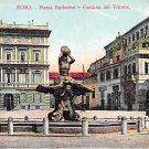 Roma, Rome - Piazza Barberini e Fontana del Tritone - Italy (A110)