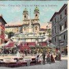 Roma, Rome - Chiesa della Trinita dei Monti con la Scalinata - Italy (A106)