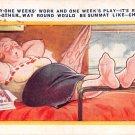 Fifty One Weeks' Work and One Week's Play - Bamforth (A169)